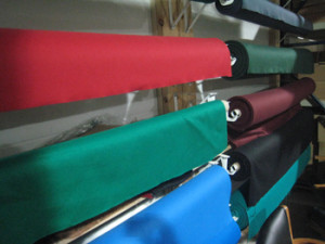 Boise pool table recovering table cloth colors