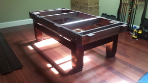 Correctly performing pool table installations, Boise Idaho